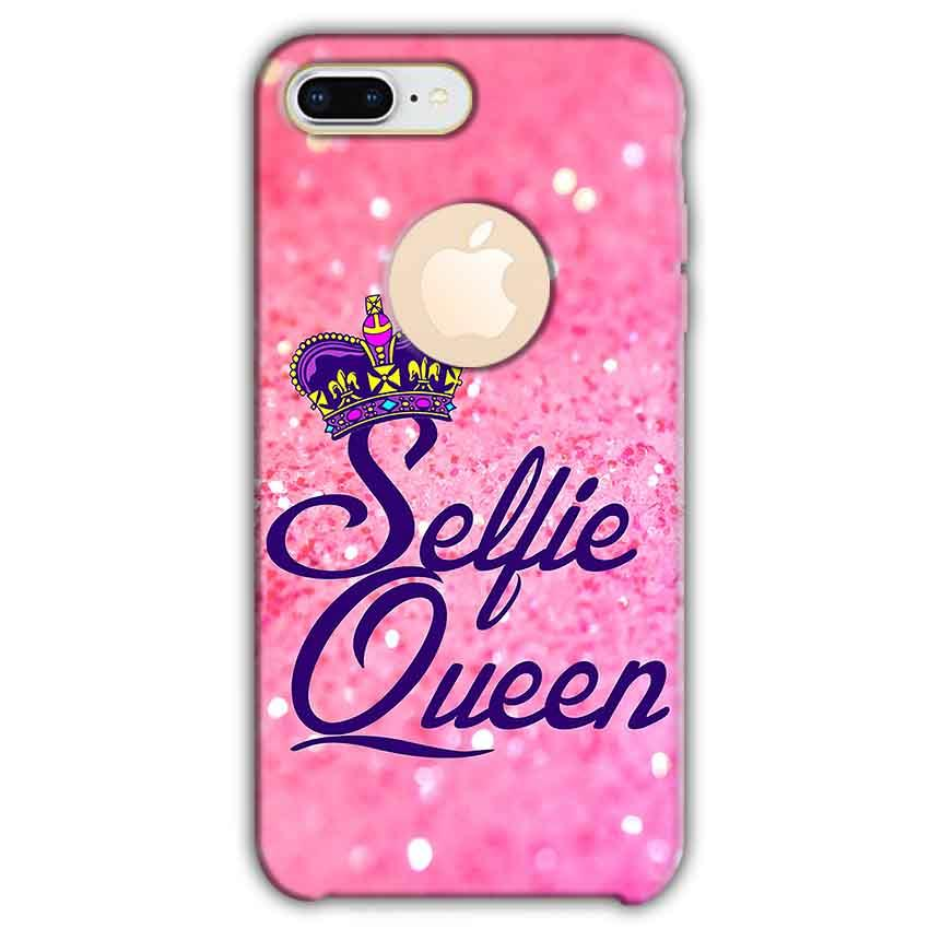 Apple iphone 8 Plus With Apple Cut Mobile Covers Cases Selfie Queen - Lowest Price - Paybydaddy.com