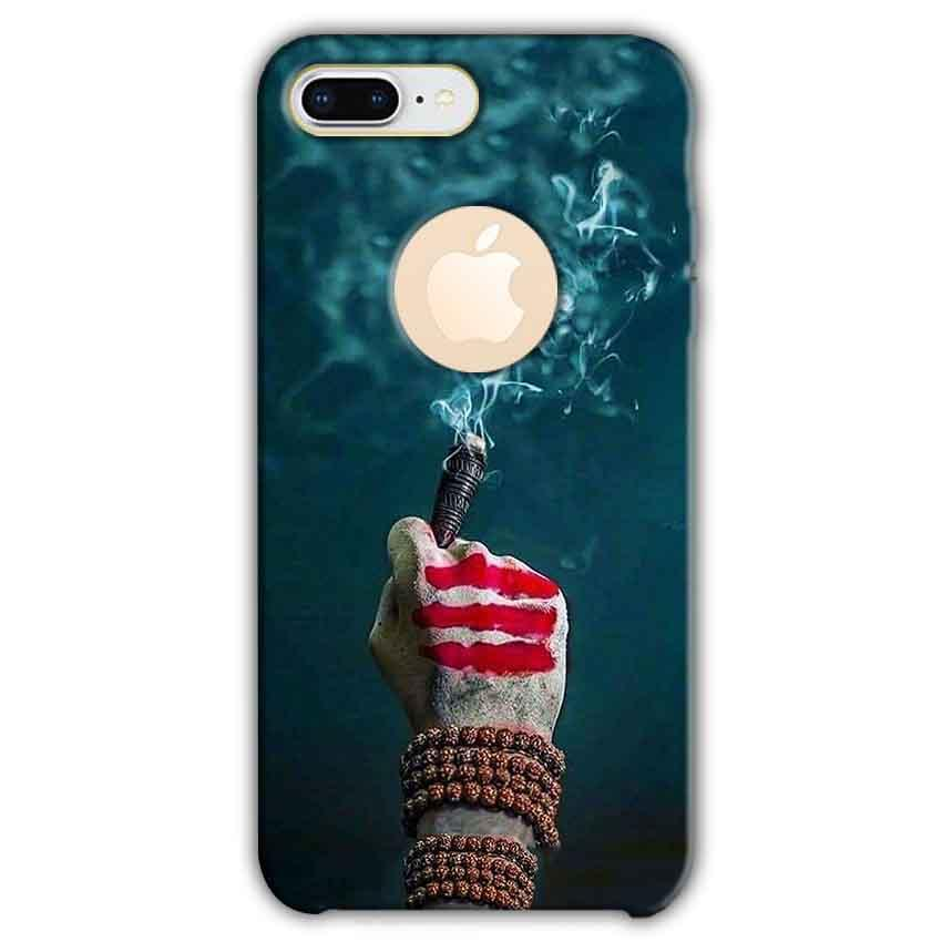 Apple iphone 8 Plus With Apple Cut Mobile Covers Cases Shiva Hand With Clilam - Lowest Price - Paybydaddy.com