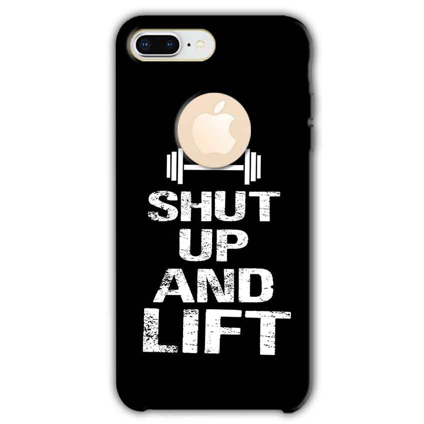 Apple iphone 8 Plus With Apple Cut Mobile Covers Cases Shut Up And Lift - Lowest Price - Paybydaddy.com