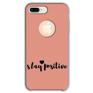 Apple iphone 8 Plus With Apple Cut Mobile Covers Cases Stay Positive - Lowest Price - Paybydaddy.com