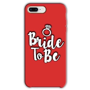 Apple iphone 8 Plus Mobile Covers Cases bride to be with ring - Lowest Price - Paybydaddy.com