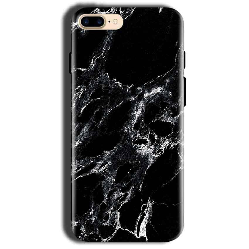 Apple iphone 8 Mobile Covers Cases Pure Black Marble Texture - Lowest Price - Paybydaddy.com