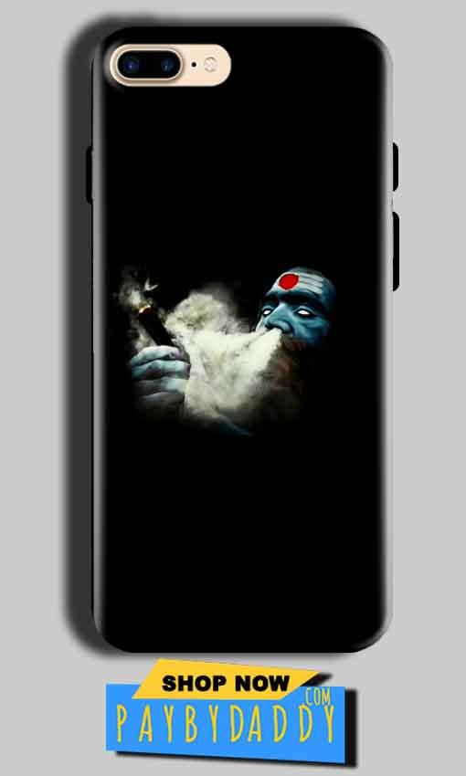 Apple iphone 8 Mobile Covers Cases Shiva Aghori Smoking - Lowest Price - Paybydaddy.com