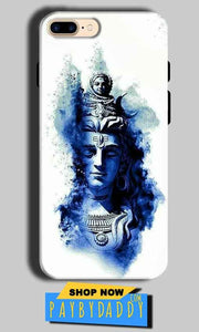 Apple iphone 8 Mobile Covers Cases Shiva Blue White - Lowest Price - Paybydaddy.com