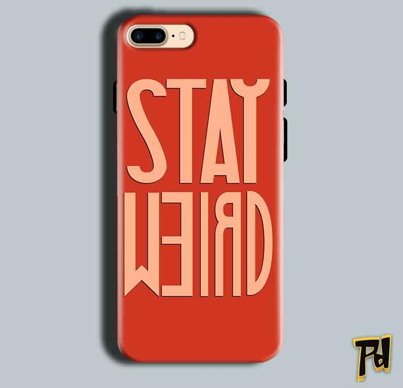 Apple iphone 8 Mobile Covers Cases Stay Weird - Lowest Price - Paybydaddy.com