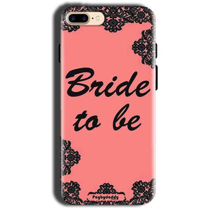 Apple iphone 8 Mobile Covers Cases Mobile Covers Cases bride to be with ring Black Pink - Lowest Price - Paybydaddy.com