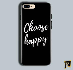Apple iphone 8 Mobile Covers Cases Choose happy - Lowest Price - Paybydaddy.com