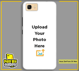 Customized Asus ZenFone 3X Max Back Mobile Phone Covers & Back Covers with your Text & PhotoPhoto Cover,Custom Cover,Picture With Cover