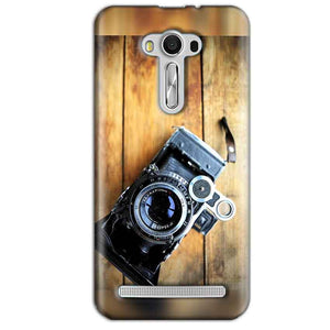 Asus Zenfone 2 Laser ZE550KL Mobile Covers Cases Camera With Wood - Lowest Price - Paybydaddy.com
