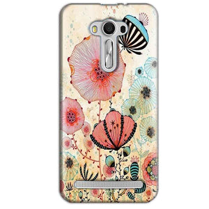 Asus Zenfone 2 Laser ZE550KL Mobile Covers Cases Deep Water Jelly fish- Lowest Price - Paybydaddy.com