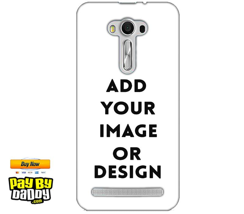 Pic on Cover / Photo Back Cover / Customized Mobile Covers For  Asus Zenfone 2 Laser ZE550KL