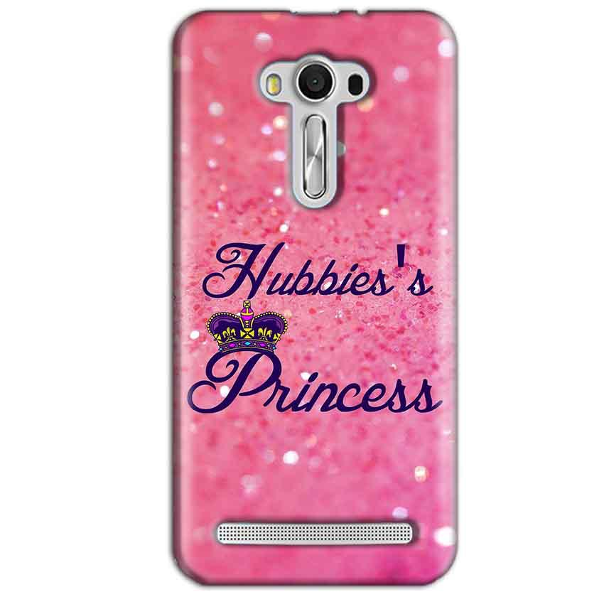 Asus Zenfone 2 Laser ZE550KL Mobile Covers Cases Hubbies Princess - Lowest Price - Paybydaddy.com