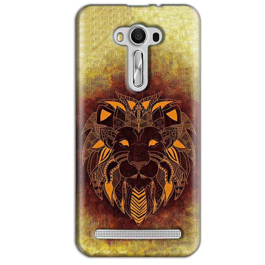 Asus Zenfone 2 Laser ZE550KL Mobile Covers Cases Lion face art - Lowest Price - Paybydaddy.com