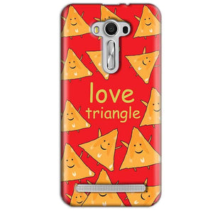Asus Zenfone 2 Laser ZE550KL Mobile Covers Cases Love Triangle - Lowest Price - Paybydaddy.com