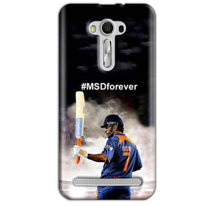 Asus Zenfone 2 Laser ZE550KL Mobile Covers Cases MS dhoni Forever - Lowest Price - Paybydaddy.com