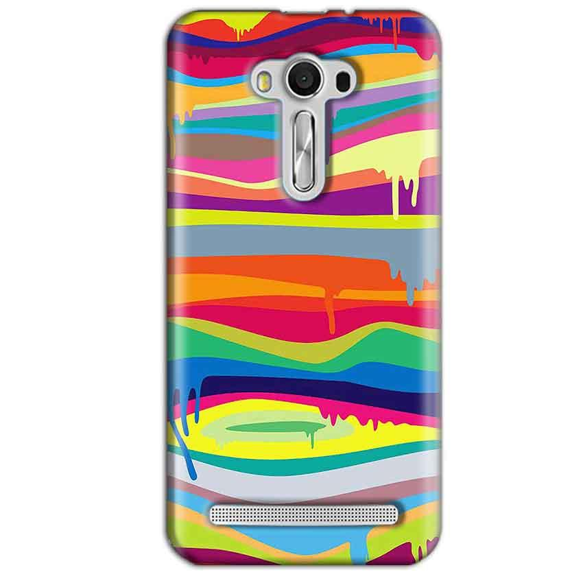 Asus Zenfone 2 Laser ZE550KL Mobile Covers Cases Melted colours - Lowest Price - Paybydaddy.com