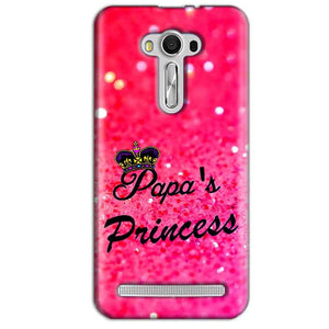 Asus Zenfone 2 Laser ZE550KL Mobile Covers Cases PAPA PRINCESS - Lowest Price - Paybydaddy.com