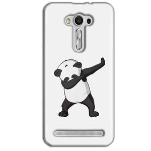 Asus Zenfone 2 Laser ZE550KL Mobile Covers Cases Panda Dab - Lowest Price - Paybydaddy.com