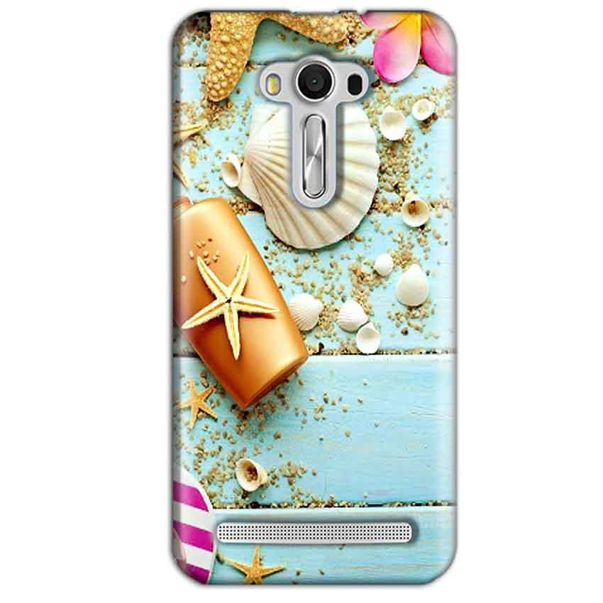 Asus Zenfone 2 Laser ZE550KL Mobile Covers Cases Pearl Star Fish - Lowest Price - Paybydaddy.com