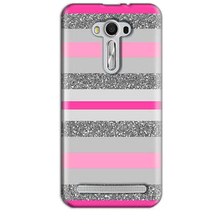 Asus Zenfone 2 Laser ZE550KL Mobile Covers Cases Pink colour pattern - Lowest Price - Paybydaddy.com