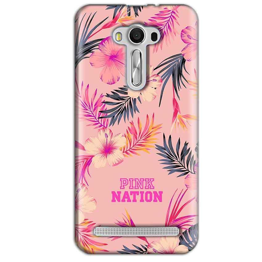 Asus Zenfone 2 Laser ZE550KL Mobile Covers Cases Pink nation - Lowest Price - Paybydaddy.com