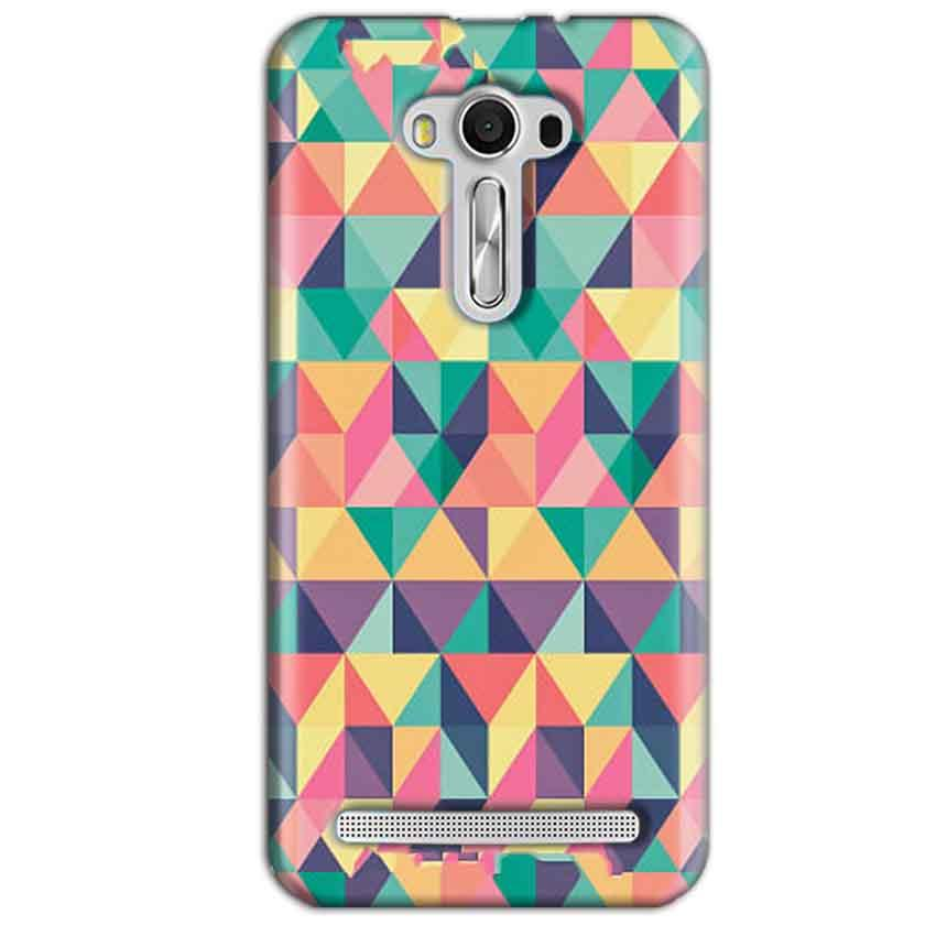 Asus Zenfone 2 Laser ZE550KL Mobile Covers Cases Prisma coloured design - Lowest Price - Paybydaddy.com