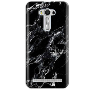 Asus Zenfone 2 Laser ZE550KL Mobile Covers Cases Pure Black Marble Texture - Lowest Price - Paybydaddy.com