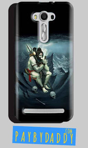 Asus Zenfone 2 Laser ZE550KL Shiva Smoking Mobile Back Cover Case