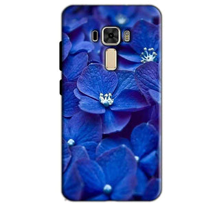 Asus Zenfone 3 Mobile Covers Cases Blue flower - Lowest Price - Paybydaddy.com