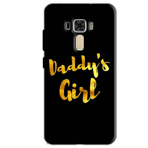 Asus Zenfone 3 Mobile Covers Cases Daddys girl - Lowest Price - Paybydaddy.com