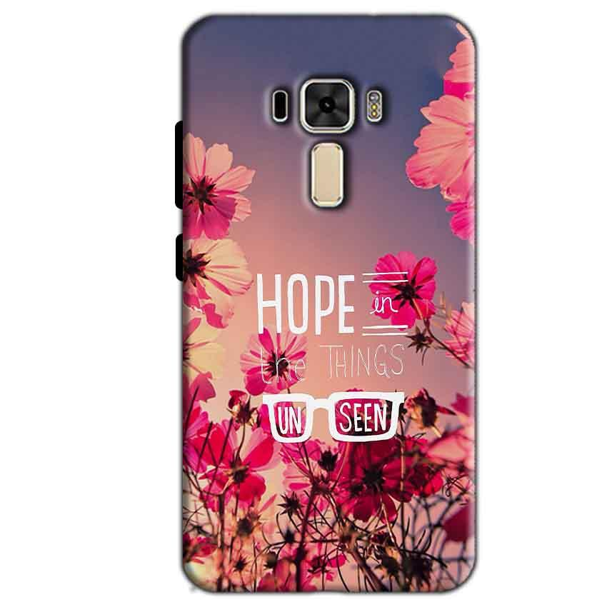 Asus Zenfone 3 Mobile Covers Cases Hope in the Things Unseen- Lowest Price - Paybydaddy.com