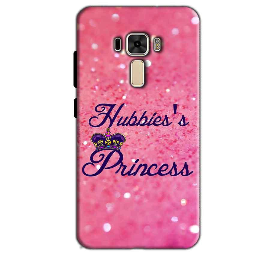 Asus Zenfone 3 Mobile Covers Cases Hubbies Princess - Lowest Price - Paybydaddy.com