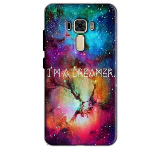 Asus Zenfone 3 Mobile Covers Cases I am Dreamer - Lowest Price - Paybydaddy.com