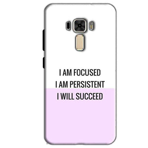 Asus Zenfone 3 Mobile Covers Cases I am Focused - Lowest Price - Paybydaddy.com