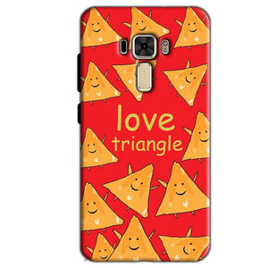 Asus Zenfone 3 Mobile Covers Cases Love Triangle - Lowest Price - Paybydaddy.com