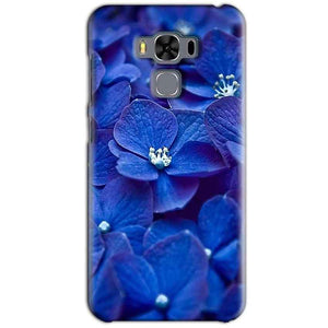 Asus Zenfone 3 MAX ZC553KL Mobile Covers Cases Blue flower - Lowest Price - Paybydaddy.com