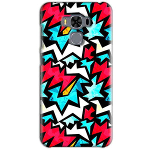 Asus Zenfone 3 MAX ZC553KL Mobile Covers Cases Colored Design Pattern - Lowest Price - Paybydaddy.com