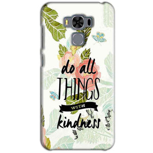Asus Zenfone 3 MAX ZC553KL Mobile Covers Cases Do all things with kindness - Lowest Price - Paybydaddy.com