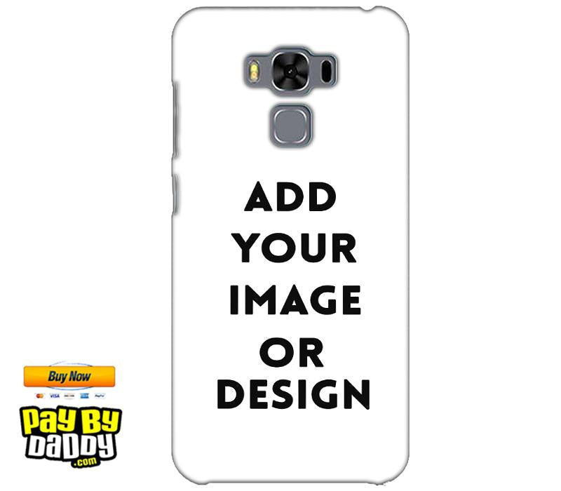 Pic on Cover / Photo Back Cover / Customized Mobile Covers For  Asus Zenfone 3 MAX ZC553KL