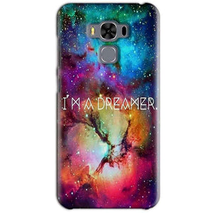 Asus Zenfone 3 MAX ZC553KL Mobile Covers Cases I am Dreamer - Lowest Price - Paybydaddy.com