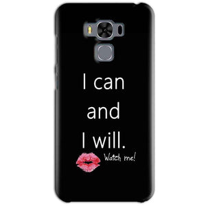 Asus Zenfone 3 MAX ZC553KL Mobile Covers Cases i can and i will Lips - Lowest Price - Paybydaddy.com