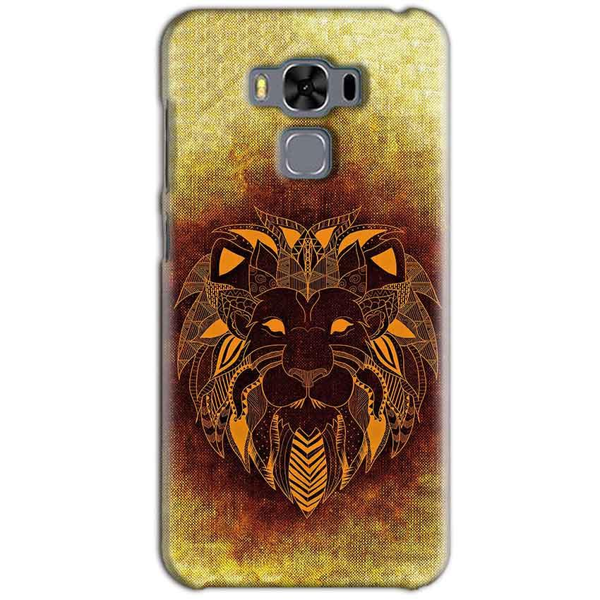 Asus Zenfone 3 MAX ZC553KL Mobile Covers Cases Lion face art - Lowest Price - Paybydaddy.com