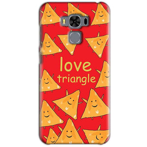 Asus Zenfone 3 MAX ZC553KL Mobile Covers Cases Love Triangle - Lowest Price - Paybydaddy.com