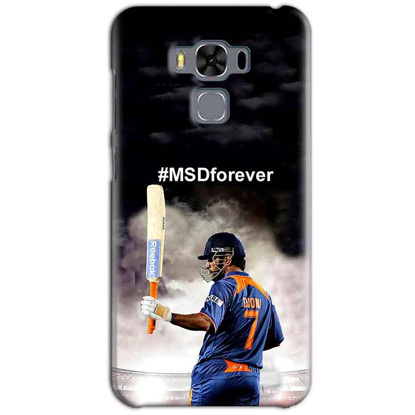 Asus Zenfone 3 MAX ZC553KL Mobile Covers Cases MS dhoni Forever - Lowest Price - Paybydaddy.com
