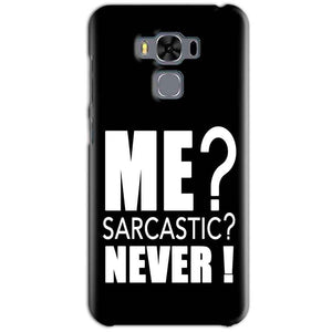 Asus Zenfone 3 MAX ZC553KL Mobile Covers Cases Me sarcastic - Lowest Price - Paybydaddy.com