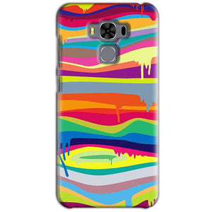 Asus Zenfone 3 MAX ZC553KL Mobile Covers Cases Melted colours - Lowest Price - Paybydaddy.com