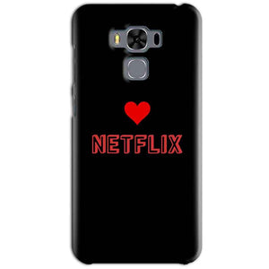 Asus Zenfone 3 MAX ZC553KL Mobile Covers Cases NETFLIX WITH HEART - Lowest Price - Paybydaddy.com