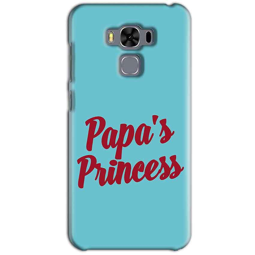 Asus Zenfone 3 MAX ZC553KL Mobile Covers Cases Papas Princess - Lowest Price - Paybydaddy.com