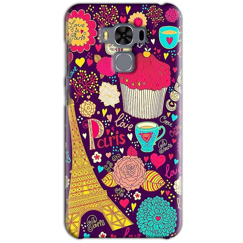 Asus Zenfone 3 MAX ZC553KL Mobile Covers Cases Paris Sweet love - Lowest Price - Paybydaddy.com