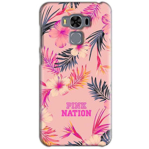 Asus Zenfone 3 MAX ZC553KL Mobile Covers Cases Pink nation - Lowest Price - Paybydaddy.com
